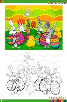 Ostern zeichen malbuch
