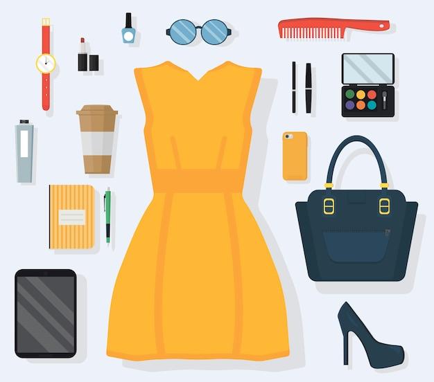 Outfit-konzept für den alltag