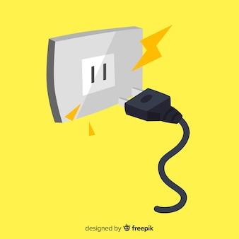 Outlet-hintergrund