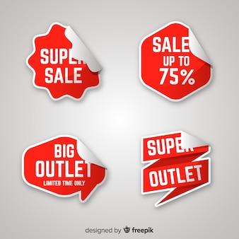 Outlet-label-sammlung