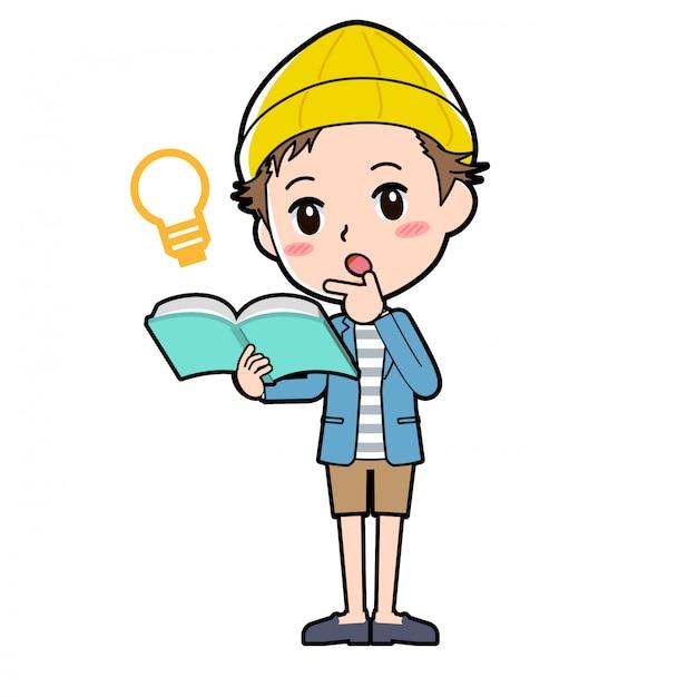 Outline jacke kurze hose man_book-idee
