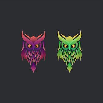 Owl logo-ideen