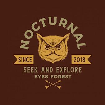 Owl logo vorlage