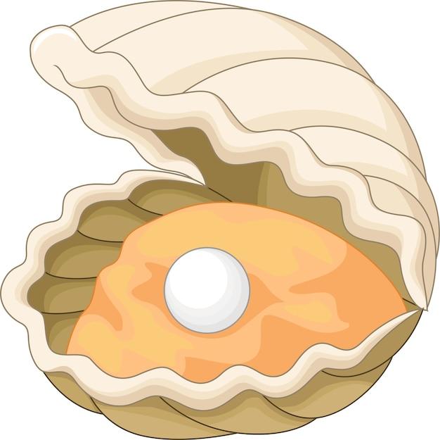 Oyster mit einer perle