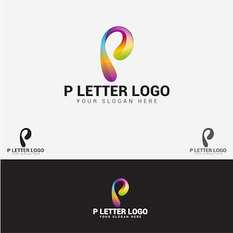 P brief logo