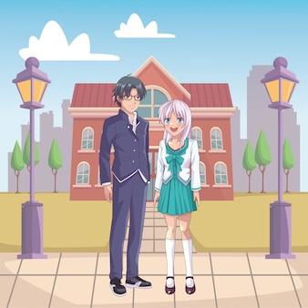 Paar anime manga