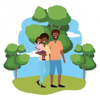 Paar mit kind