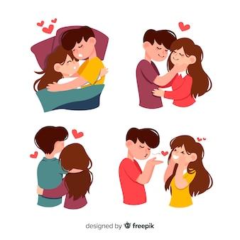 Paaraktivitäten zum valentinstag