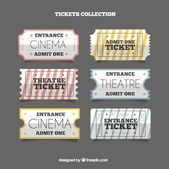 Pack of retro theaterkarten