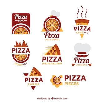 Packung pizzeria logos