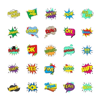 Packung pop art bubbles