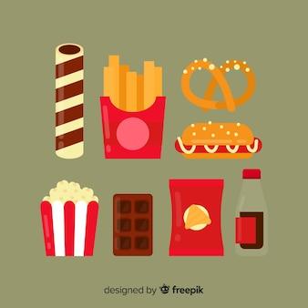 Packung snacks