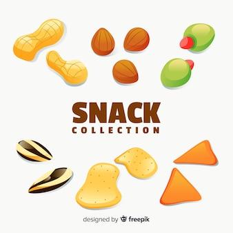 Packung ungesunde snacks