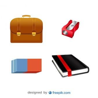 Packung von bildern von business-objekten