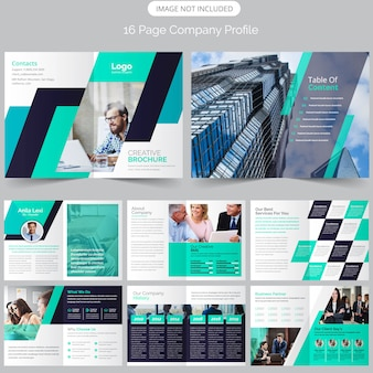 Page firmenprofil-broschüre