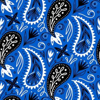 Paisley bandana muster