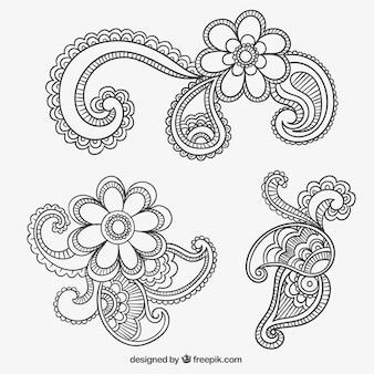 Paisley ornamente