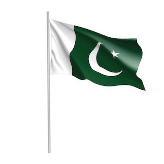 Pakistanische flagge