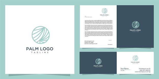 Palm-logo-design-tempel