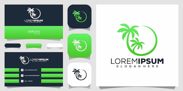 Palm logo design