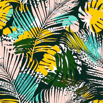 Palm muster