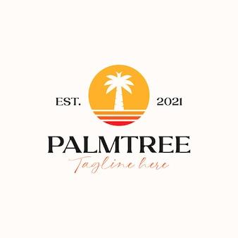 Palmen-logo-vorlage logo
