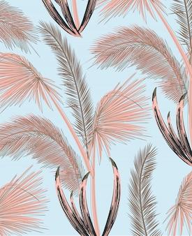 Palmenmuster