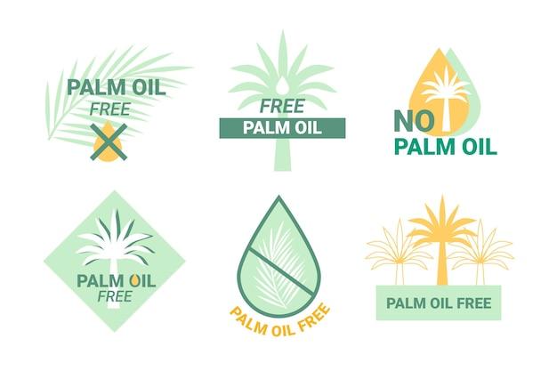 Palmöl-zeichensammlung
