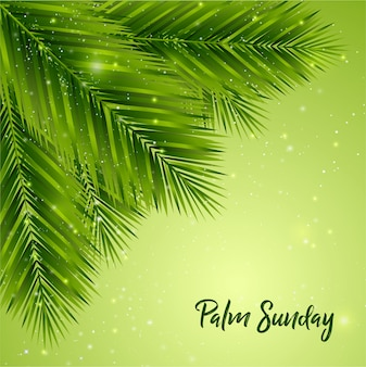 Palmsonntag-hintergrund
