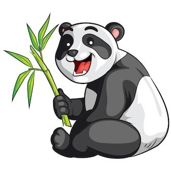 Panda-cartoon