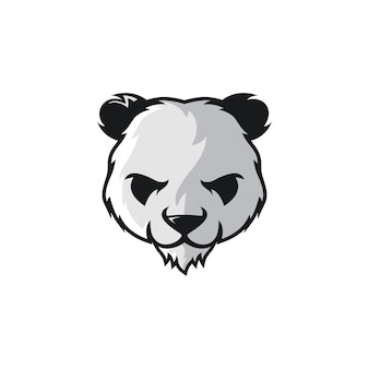 Panda-vektor-ideen