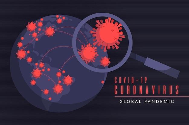 Pandemie-konzept