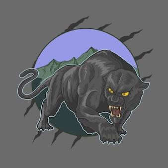 Panther aggressiv
