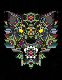 Panther huichol mexiko