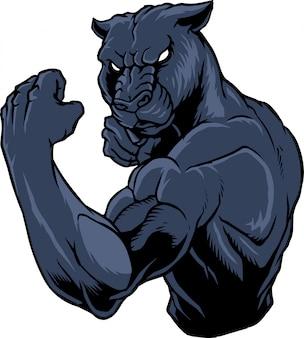 Panther kämpfer