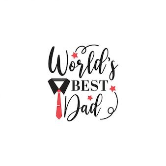 Papa zitat schriftzug typografie