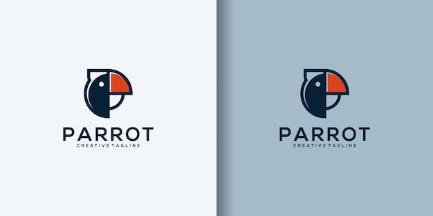 Papagei logo design