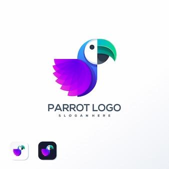 Papagei logo vorlage