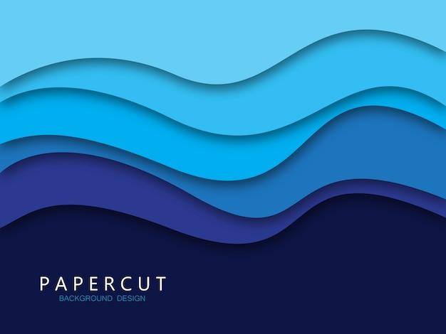 Papercut-hintergrund