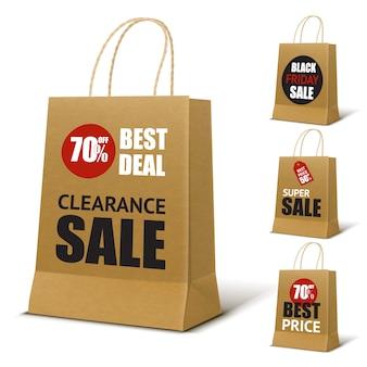 Papier-einkaufstasche-modell