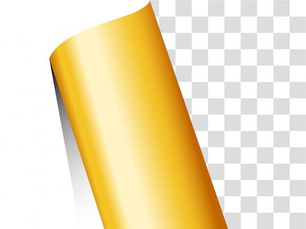 Papier goldband hintergrund.