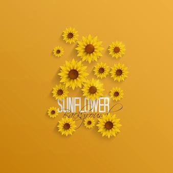 Papier sonnenblumen
