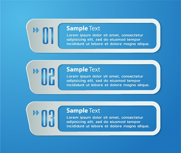 Papier-textfeldvorlage