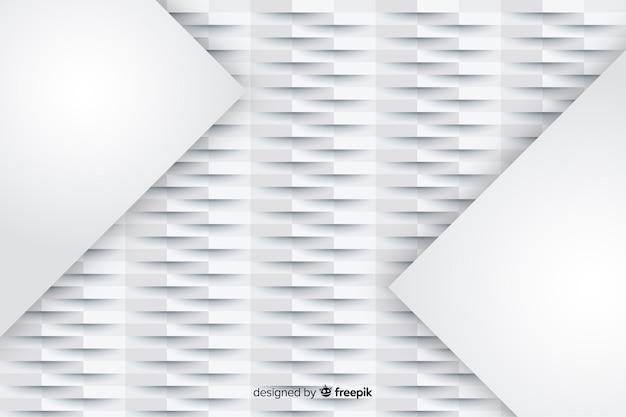 Papierart mit geometrischem formdesign