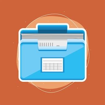 Papierkram für archivdateien