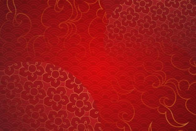 Papierkunst der chinesischen traditionellen und asiatischen elementschablone