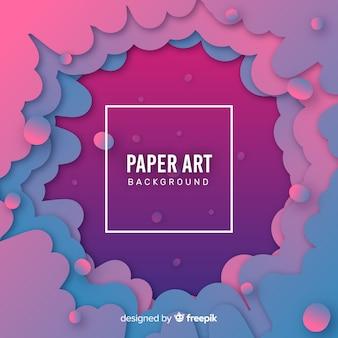 Papierkunsthintergrund