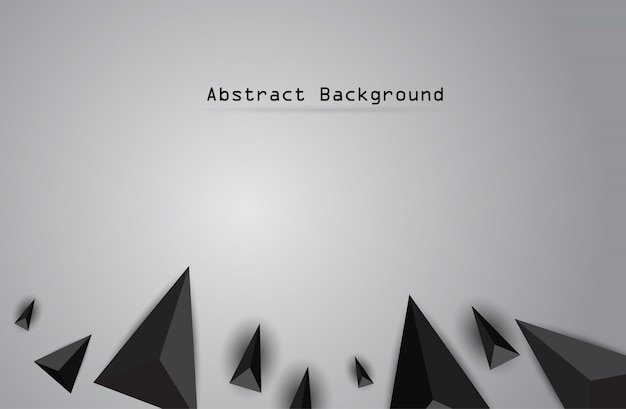 Papierorigami-polygonaler formvektorhintergrund.