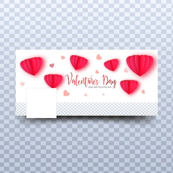 Papierorigamiherzformen mit stilvoller beschriftung des valentinsgrußes