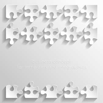 Papierpuzzles illustration